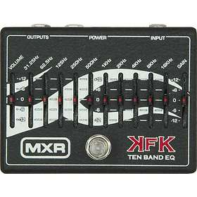 Jim Dunlop MXR Signature KFK1 Ten Band Equalizer