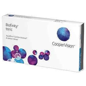 CooperVision Biofinity Toric (6-pack)