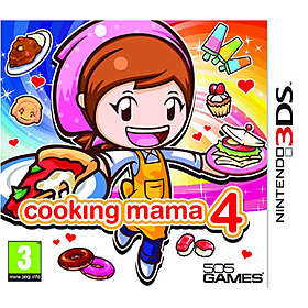 Cooking Mama 4: Kitchen Magic (3DS)