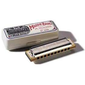 Hohner Diatonic Marine Band 1896 Classic (G-High)