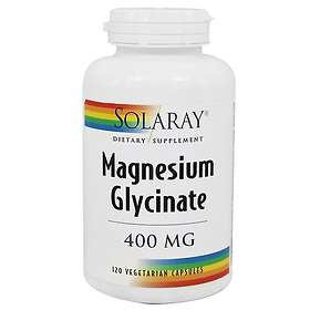 Solaray Magnesium Glycinate 120 Capsules