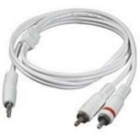 C2G One 3.5mm - 2RCA 2m