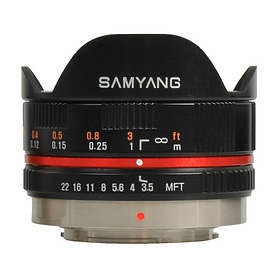 Samyang MF 7.5/3.5 UMC Fisheye for Olympus/Panasonic m4/3