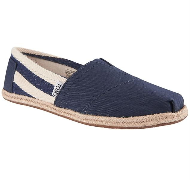 Best pris på Toms Classics Canvas Slip On (Dame) Fritidssko
