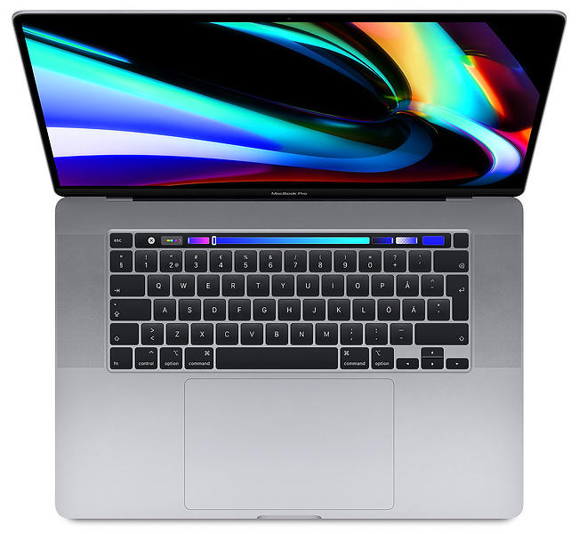 "Bild på Apple MacBook Pro (2019) - 2,6GHz HC 16GB 512GB 16"" från Prisjakt.nu"