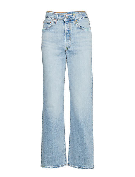 Levi's Ribcage Straight Ankle Jeans (Dame)